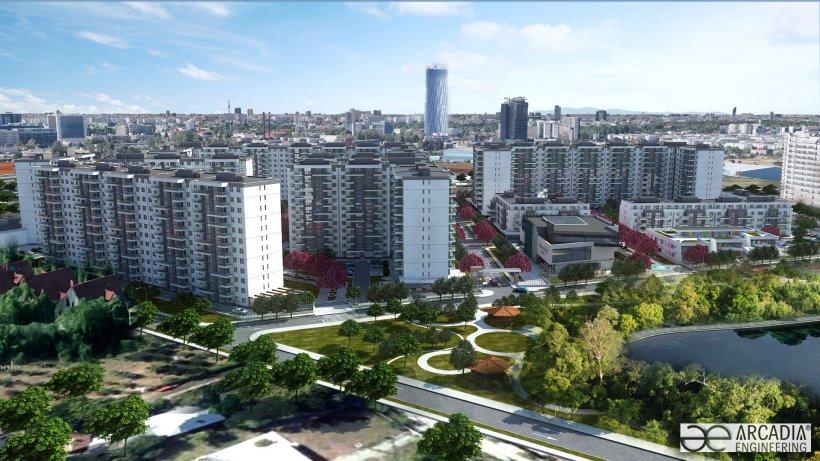 (P) Proiectul rezidenţial Onix Park aduce 2.000 de Apartamente Noi  în zona de Nord a Bucureştiului