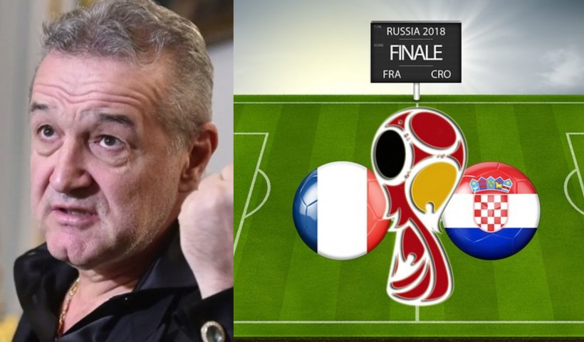 FINALA CAMPIONATUL MONDIAL 2018. Cu ține cine Gigi Becali în finala Mondialului