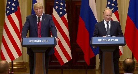 """Întâlnire istorică între Trump și Putin. Liderul Rusiei: """"Relațiile noastre trec printr-o perioadă grea"""""""