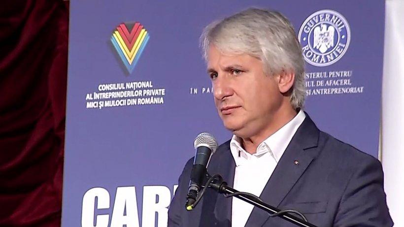 Teodorovici, despre plafonarea preţului gazelor: Este o măsură comunistă până la un punct, dar necesară întrucât nu avem concurenţă