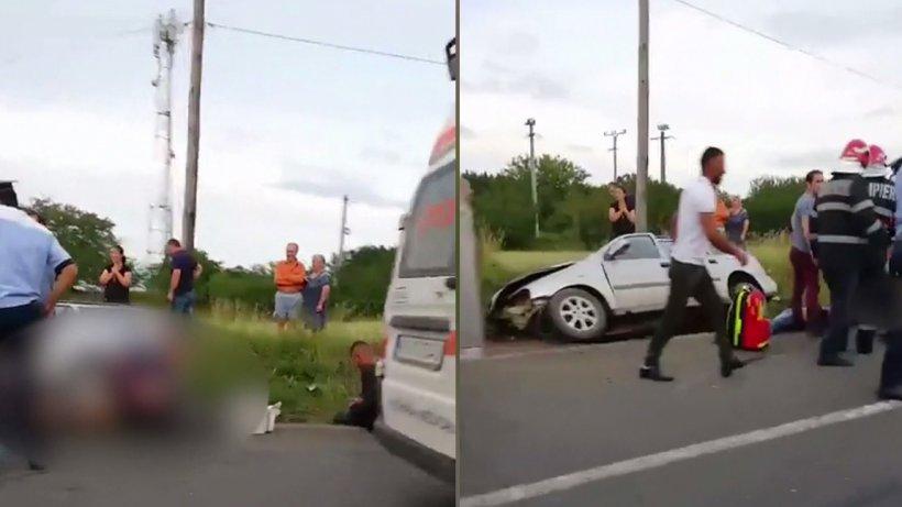 Accidentmortal în Vrancea! Tinerii erau live pe Facebook - VIDEO