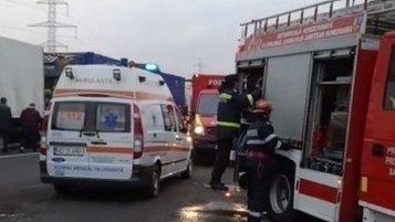 Accident rutier în Ilfov! Pieton lovit de o maşină în timp ce traversa neregulamentar