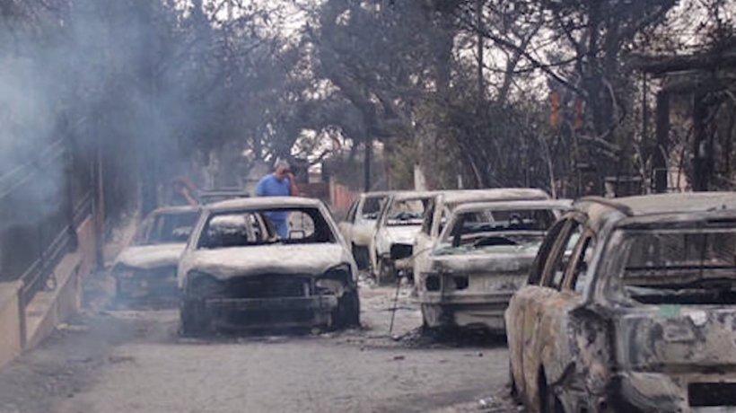 Imagini apocaliptice cu dezastrul din Grecia! 74 de oameni au murit. Românii din Atena, mărturii din infern - VIDEO