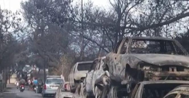 """Imagini filmate de românii care trăiesc în Grecia: """"Dezastrul continuă. Aproape în fiecare casă cineva este găsit mort"""""""