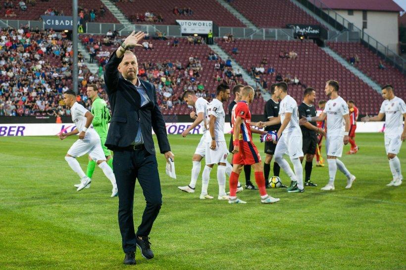 CFR Cluj a rămas fără antrenor, după doar 3 meciuri. Edward Iordănescu și-a reziliat contractul