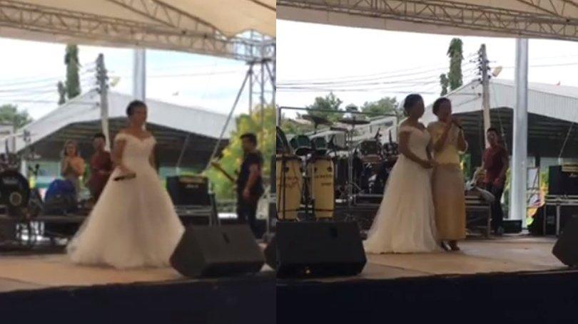 O mireasă a transmis live pe Facebook ziua nunții. Ce a observat femeia chiar în acele momente - VIDEO