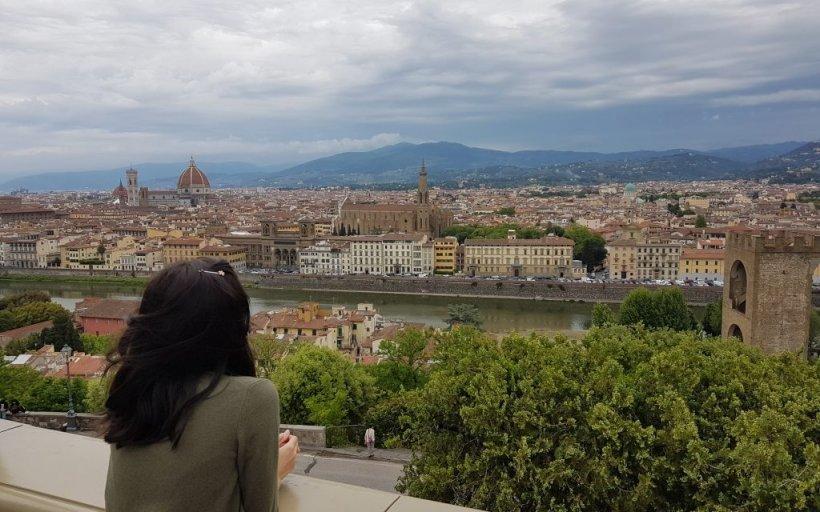 Prima dată în Toscana