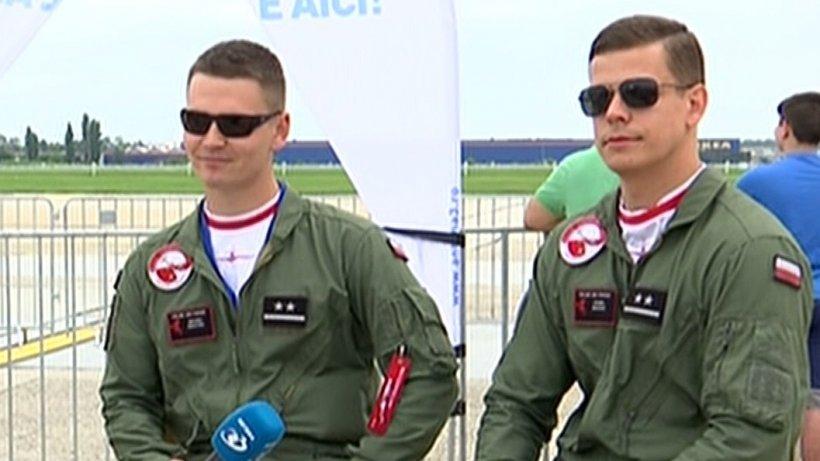 BIAS 2018. Pilot polonez:Suntem aici să sprijinim Forțele Aeriene Române