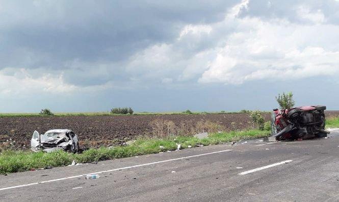 Accident grav în Ialomiţa. Primele imagini de la fața locului - VIDEO