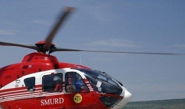 Explozie puternică în Harghita! Un bărbat, rănit grav. Elicopterul SMURD nu poate interveni din cauza vremii