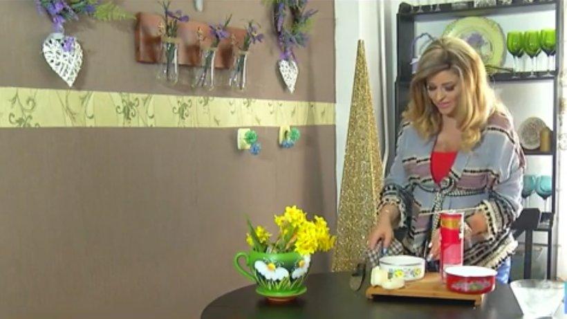 Învaţă cum să faci acasă lumânări decorative şi pafumate - VIDEO