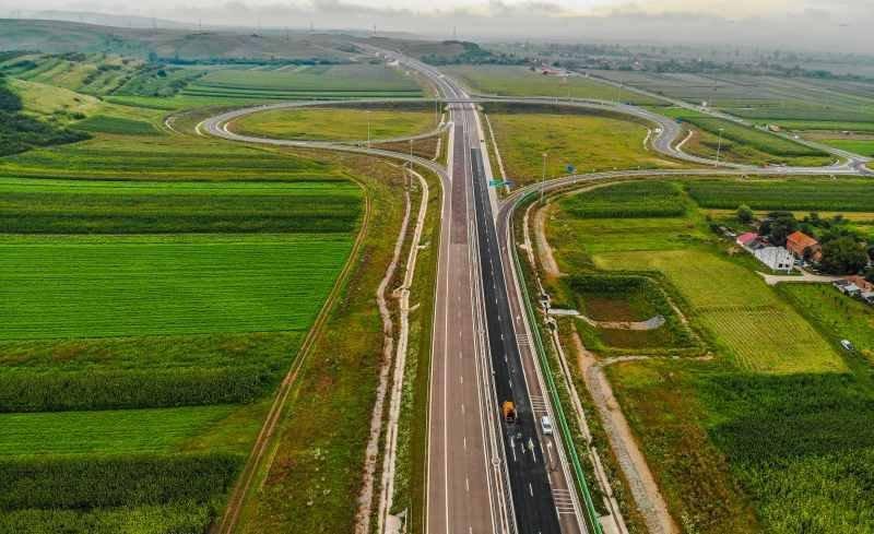 Românii mai primesc 29 de kilometri de autostradă - VIDEO