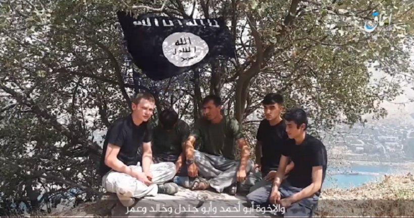 Statul Islamic a difuzat o înregistrare video cu executanţi ai atacului contra turiştilor străini