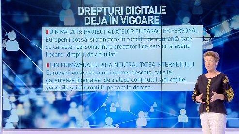 Mai multe drepturi digitale pentru europeni