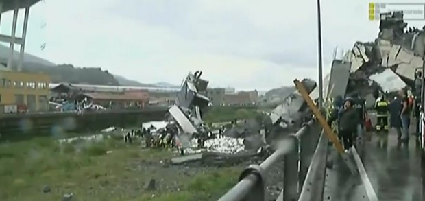 Imagini filmate cu drona la o zi după tragedia din Italia. Oamenii au rămas fără cuvinte - VIDEO