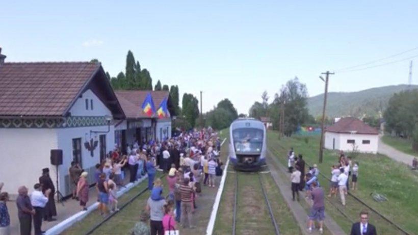 Linia care leagă Suceava de Putna, redeschisă după un reportaj marca ''În Premieră''