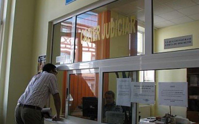 Ghişeu pentru eliberarea certificatelor de cazier judiciar, deschis pentru urgenţe în București