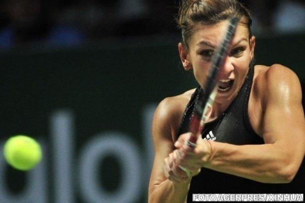 Meciul Simona Halep - Ajla Tomljanovic, întrerupt în setul decisiv