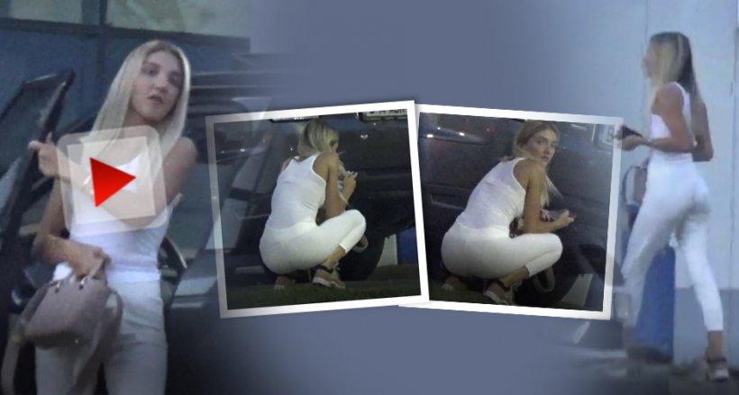 Cât de sexy e fiica mijlocie a lui Gigi Becali! Alexandra, apariţie devastatoare în Bucureşti