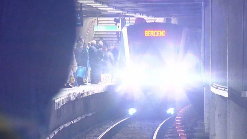 Un nou incident la metrou! O persoană a fost lovită de tren