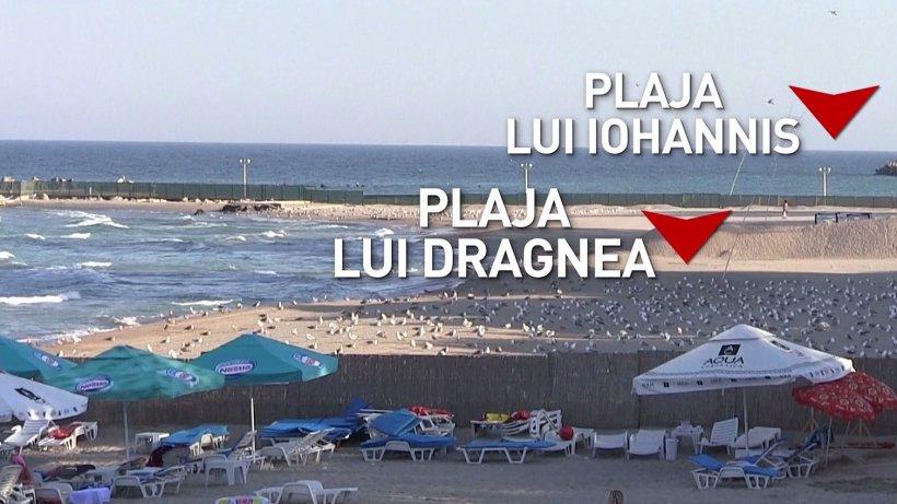 Imagini exclusive cu plaja lui Klaus Iohannis și a lui Liviu Dragnea - VIDEO