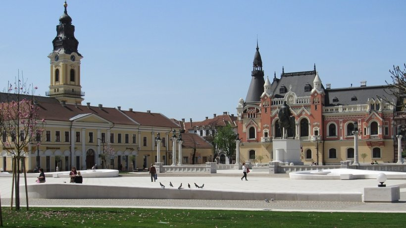 Cel mai frumos centru istoric din România! Rivalizează cu Budapesta şi Viena