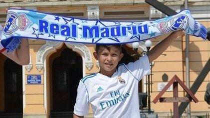 Un puști din Buzău, cel mai tânăr jucător legitimat la Real Madrid