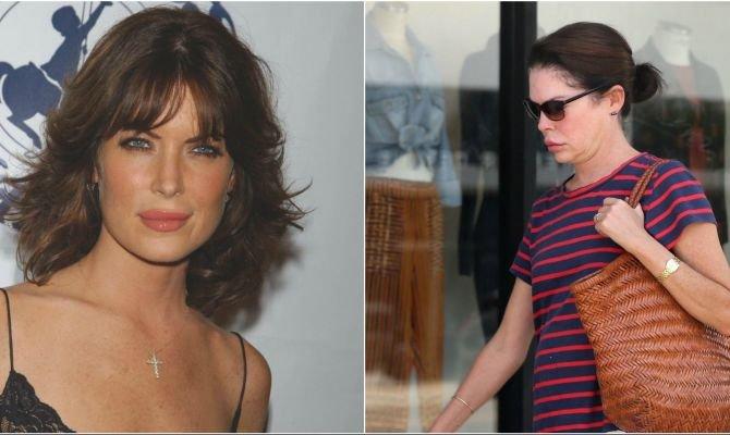"""Lara Flynn Boyle, desfigurată de alcoolism și operații estetice! Nimic nu mai amintește de frumoasa actriță din """"Twin Peaks"""""""