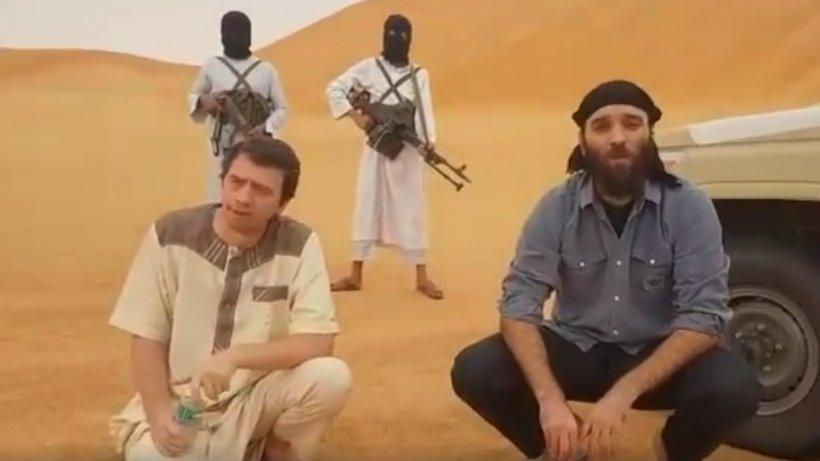 Primele imaginicu românul răpit în Libia. MAE verifică autenticitatea materialului - VIDEO