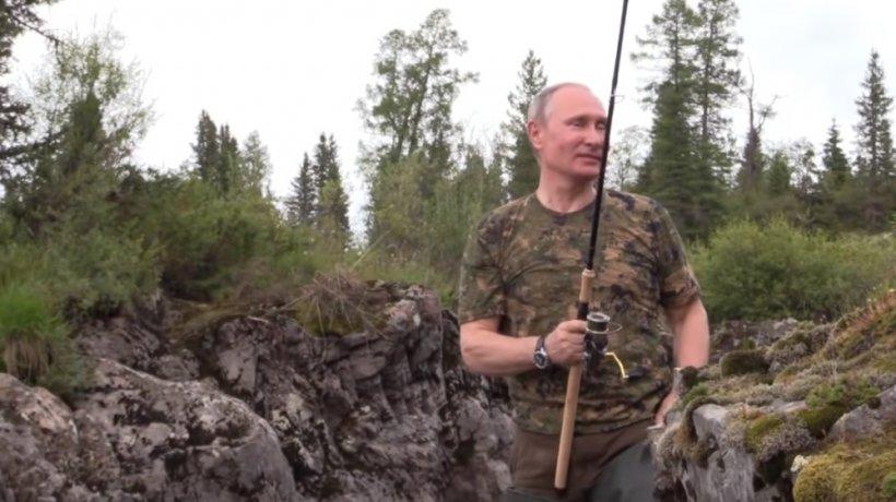 Imagini incredibiledin vacanța lui Vladimir Putin.Ce a facut liderul rus în Siberia - VIDEO