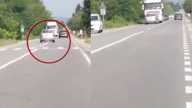Accident mortal în Argeș! Momentul impactului a fost surprins de un șofer - VIDEO