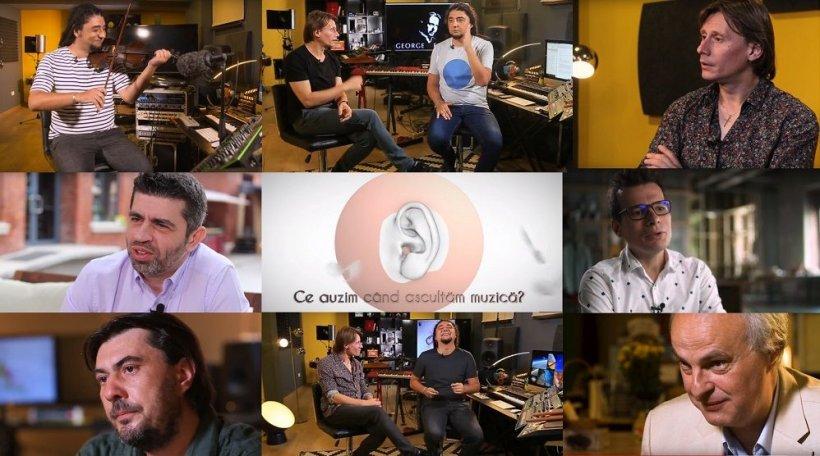 """Concursul Internațional """"George Enescu"""" lansează seria de dialoguri video """"Ce auzim când ascultăm muzică?"""": Paul Ilea și Marius Manole despre muzica clasică și arta interpretului"""