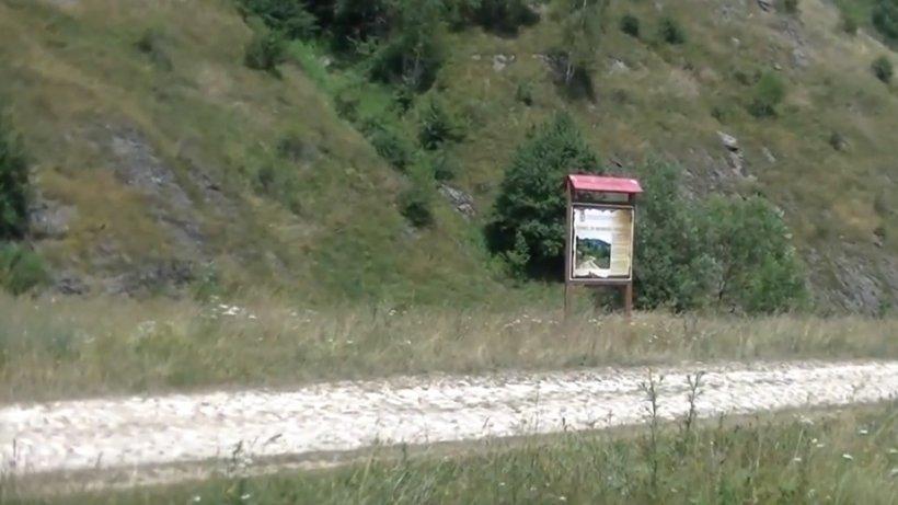 Satunic în România. Cum arată drumul de marmură de zece kilometri - VIDEO