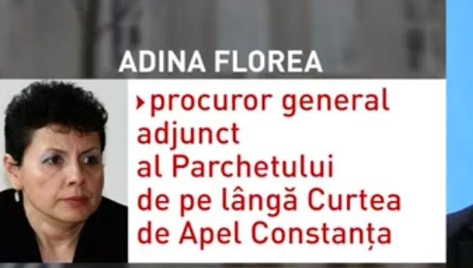 Cine este Adina Florea, propunerea lui Tudorel Toader pentru funcţia de procuror-şef al DNA