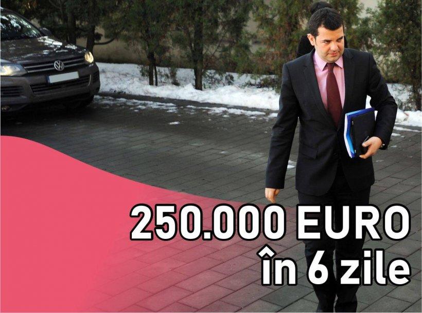 Agenţia Naţională de Integritate refuză să ancheteze cum a obţinut Daniel Constantin 250.000 euro în șasezile