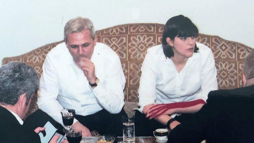 Ce are pe mână Laura Codruța Kovesi în fotografia prezentată de Victor Ponta