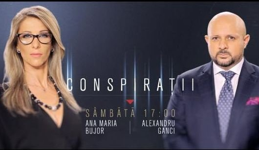 """""""Conspirații"""", o nouă emisiune la Antena 3, sâmbăta la ora 17.00. """"Am încercat să facem ceva diferit"""""""