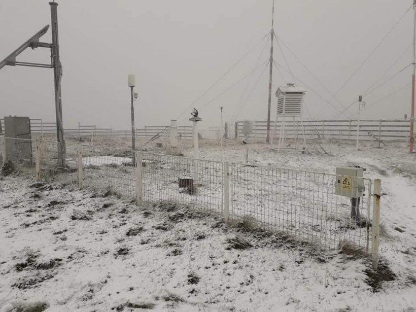 A venit iarna! Unde a căzut prima ninsoare în România 16