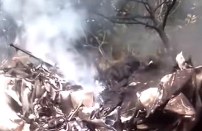 Două avioane s-au ciocnit în timpul zborului și s-au prăbușit, în Nigeria - VIDEO