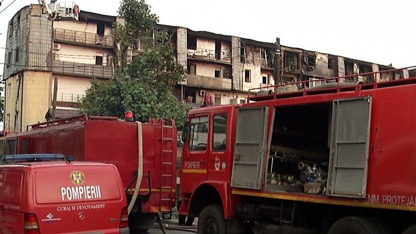 Incendiu la un hotel din Eforie Nord! 17 oameni au fost evacuați