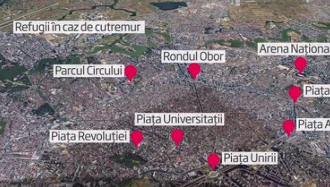 Unde ne refugiem după un seism puternic în București