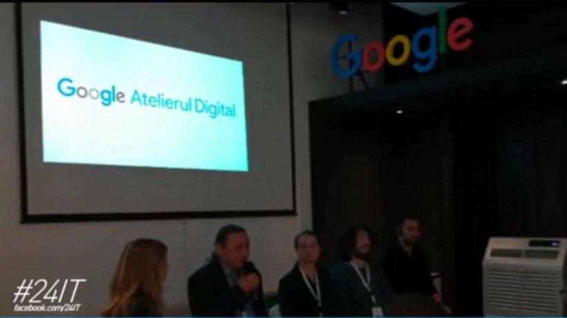 """24 IT. Google a lansat în România programul """"Atelierul Digital pentru Programatori"""", iar cursurile sunt gratuite"""
