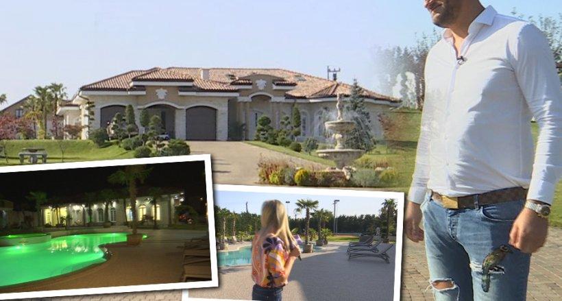 Milionar român cu vilă ca la Hollywood! A pornit de la zero și acum deține un domeniu fabulos. Imagini cu proprietatea de 10.000 de metri pătrați