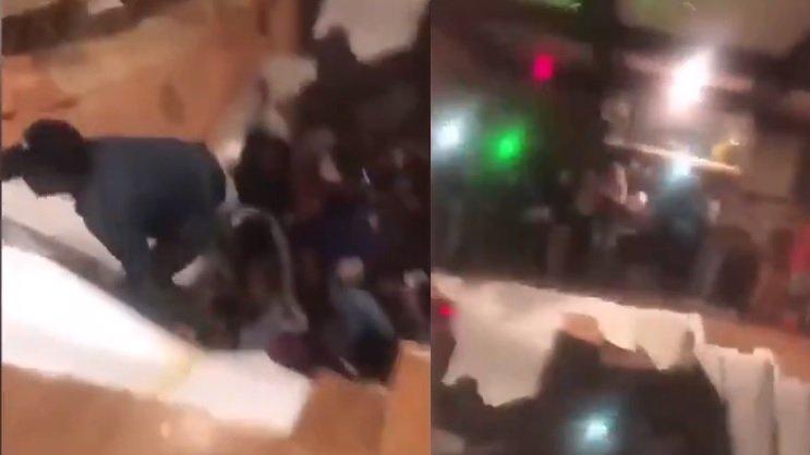 """Podeaua unei universități a cedat în timpul unei petreceri. Zeci de studenți au fost răniți. """"Toată lumea sărea, iar în următoarea clipă am simţit cum cad"""" - VIDEO"""