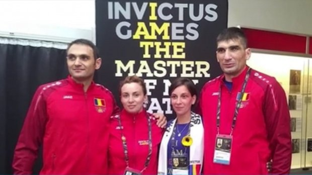 The Romanian Military has received the first medal at the Invictus Games in Australia 114