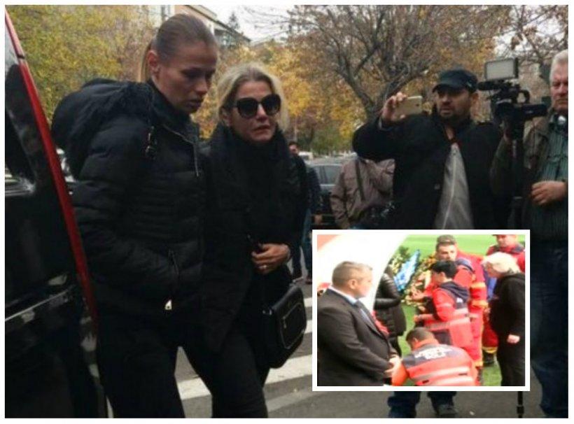 Ultima oră! Soţia lui Ilie Balaci s-a prăbuşit pe stadion. SMURD-ul, intervenţie de urgenţă