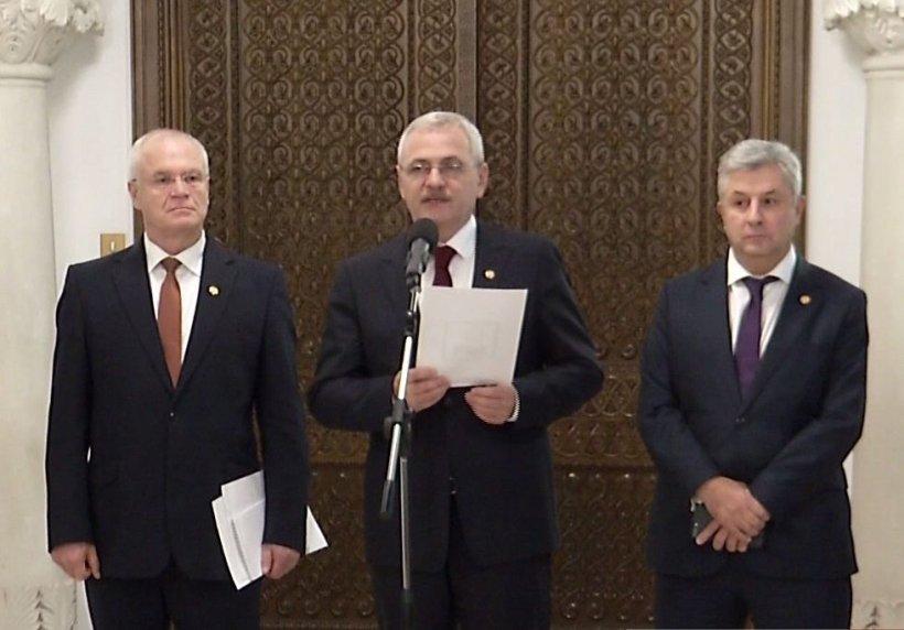 Dragnea i-a lăsat lui Iohannis o listă cu zece principii - DOCUMENT
