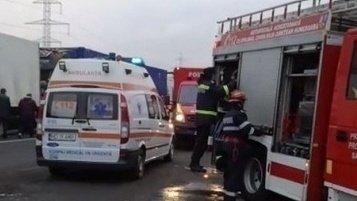 Un pieton a fost lovit mortal de o motocicletă. Accidentul s-a petrecut pe autostrada A3