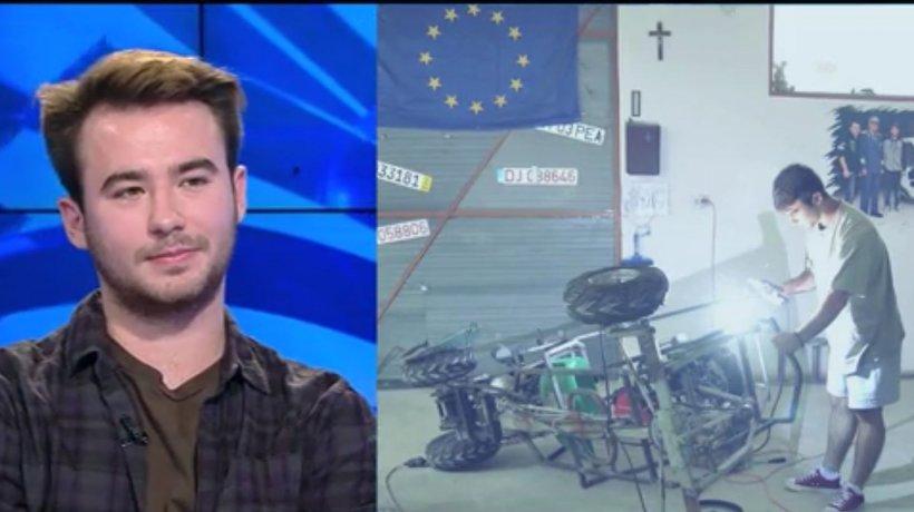 Eroul Zilei. Beniamin Zotescu, despre invenţia care propulsează viitorul: ''Este specială pentru că este făcută de nişte studenţi''