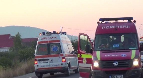 Accident grav pe DN 79. Traficul a fost întrerupt